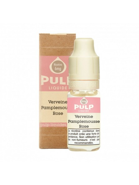 Eliquide Verveine Pamplemousse Rose PULP 10ML 5,90€