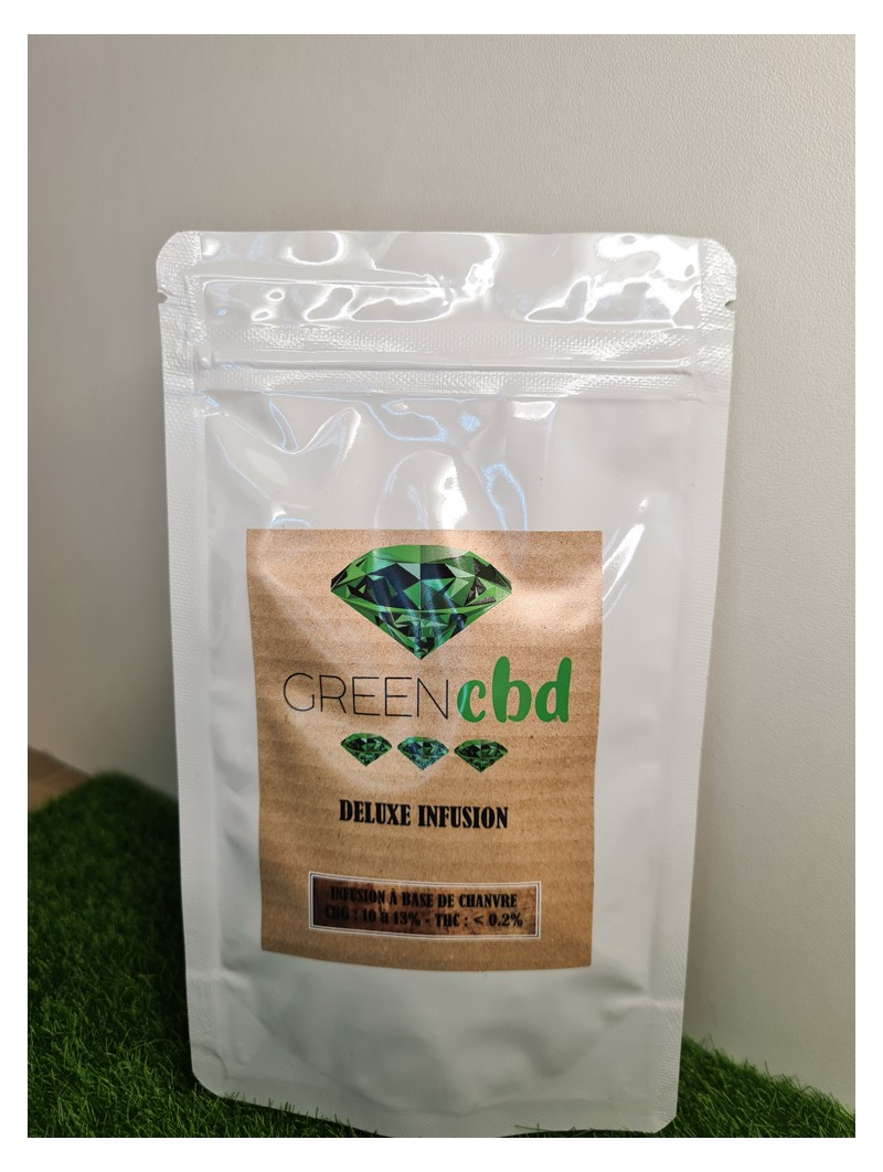 Fleurs CBD Deluxe Infusion Green House 14,90€